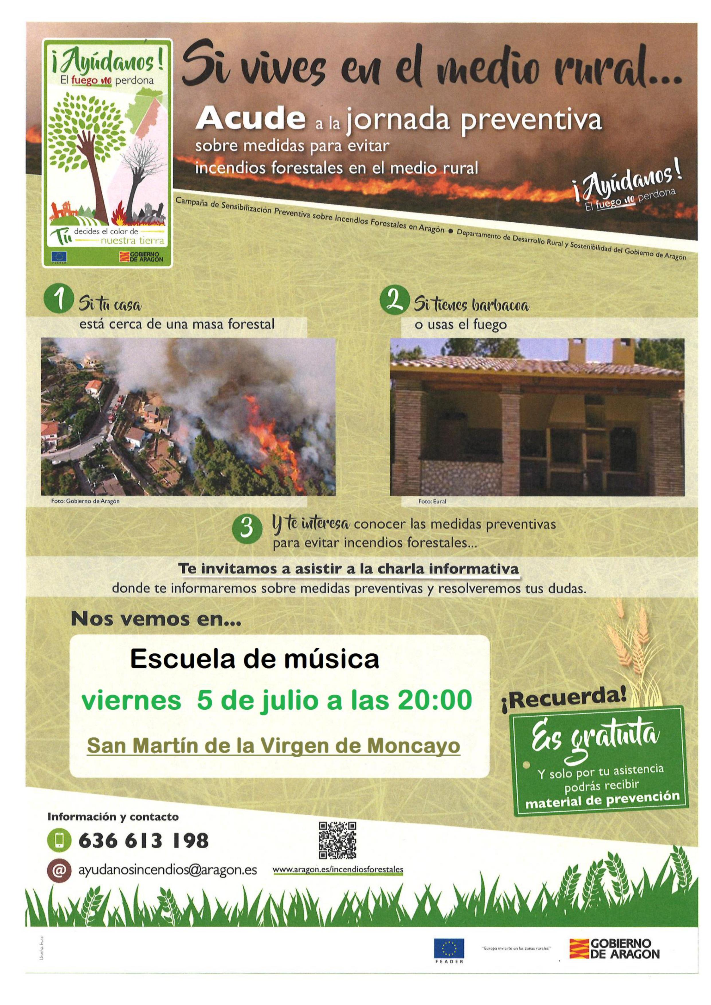 2019 cartel prevencion de incendios